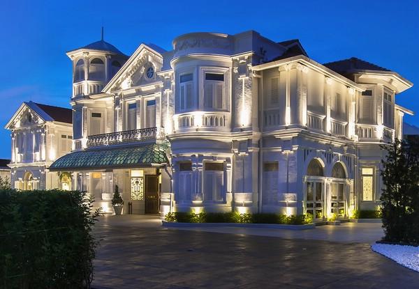 Исторический отель Macalister Mansion на острове Пенанг, Малайзия