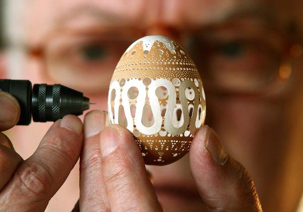 красивые пасхальные яйца фото
