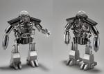 Уникальные настольные часы-робот Melchior от швейцарского бренда MB&F