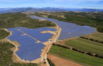 Les Mées solar farm — солнечная ферма во Франции