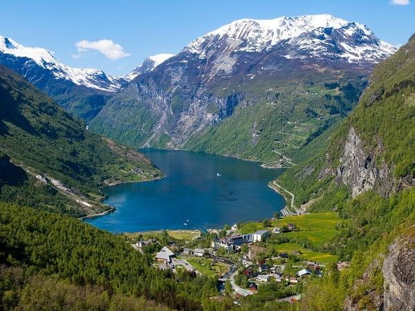 норвежские фьорды фото
