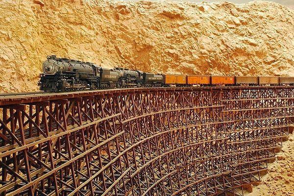 невозможная железная дорога в сша