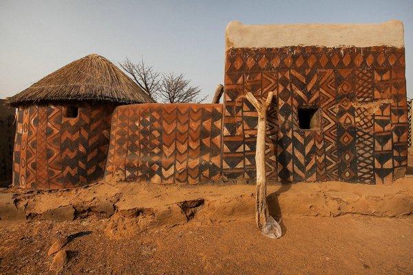 деревня Тиебеле фото