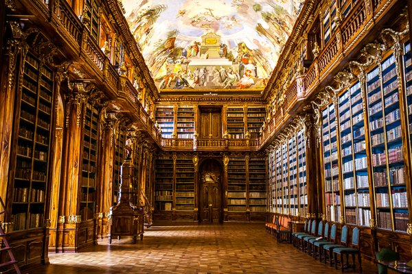 Библиотека в Клементинуме Прага