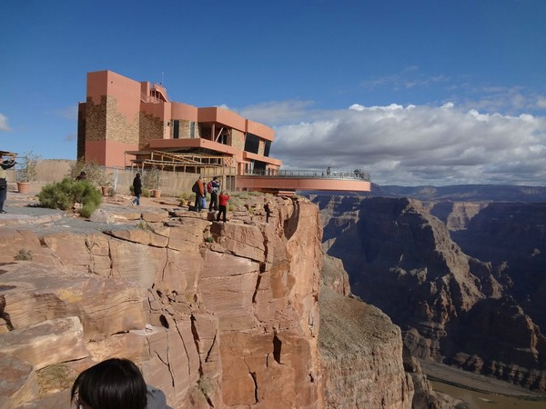 смотровая площадка над гранд каньоном