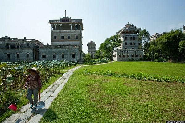 дяолоу в провинции Гуандун Китай