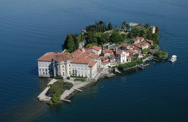 Остров Изола Белла, Италия