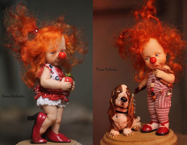 оригинальные авторские куклы