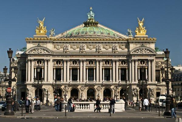 гранд-опера дворец гарнье париж