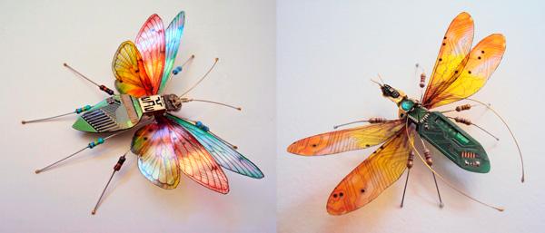 насекомые из компьютерных плат