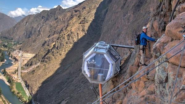 Экстремальный мини-отель Sky Lodge в Перу