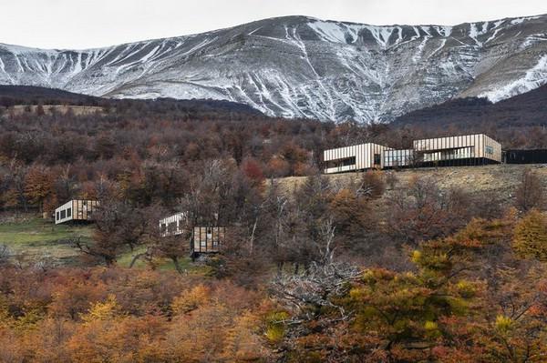 экологичный отель в чили