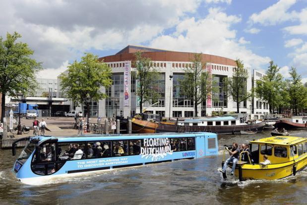 экскурсии по амстердаму автобус-амфибия