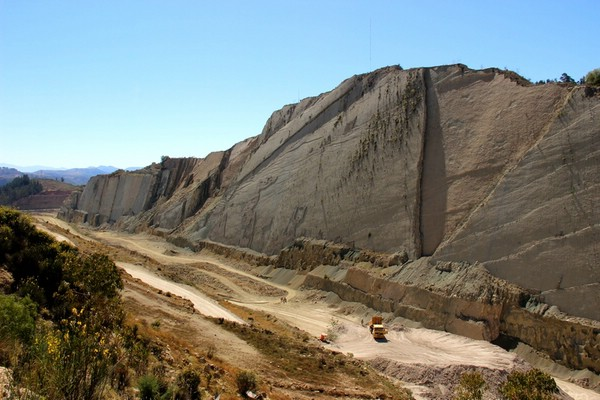 окаменевшие следы динозавров Кал Орко Боливия
