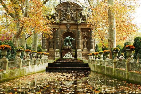 парижские фонтаны