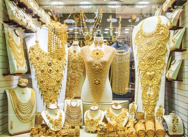 рынок золота в дубае фото