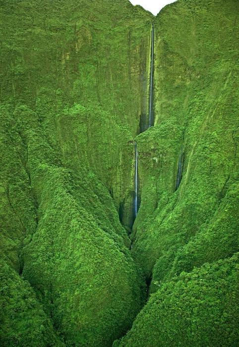 водопад Хонокохау фото