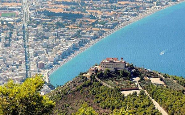 город-курорт лутраки греция