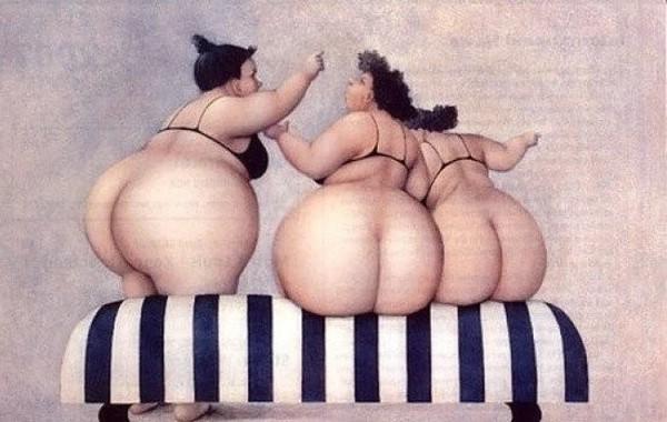 полные женщины в картинах художников