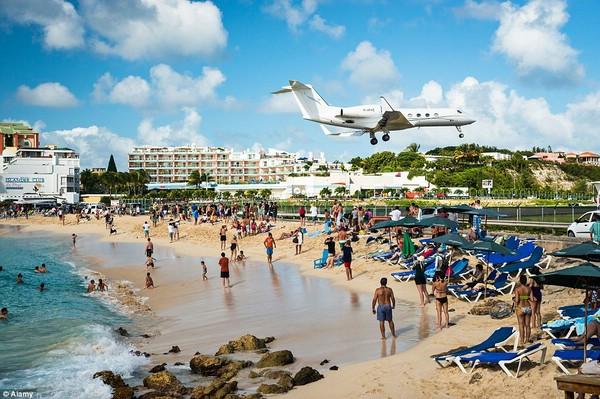 пляж махо фото