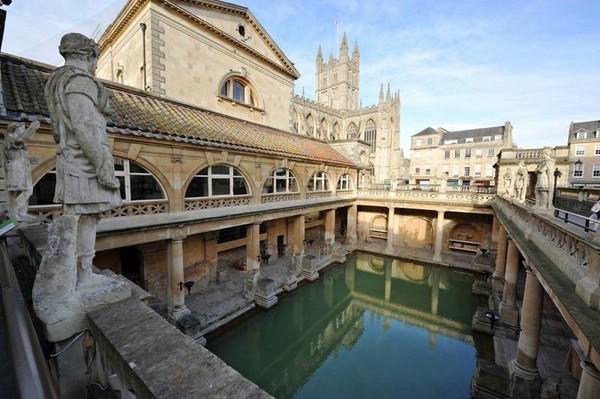 римские термы в английском городе бат