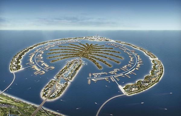 пальмовые острова Джебел Али