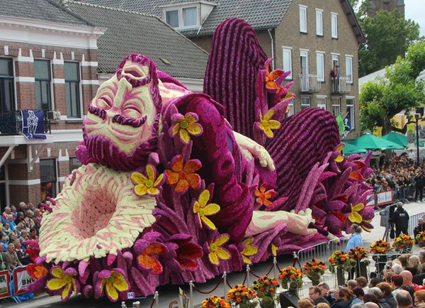 парад цветов Зюндерт Нидерланды