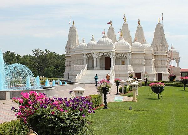 индуистский храм в лондоне