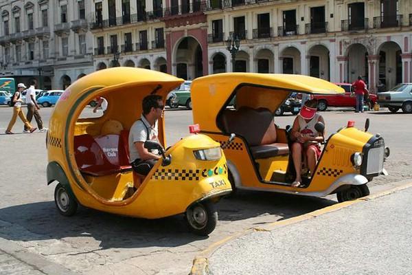 такси кокос куба