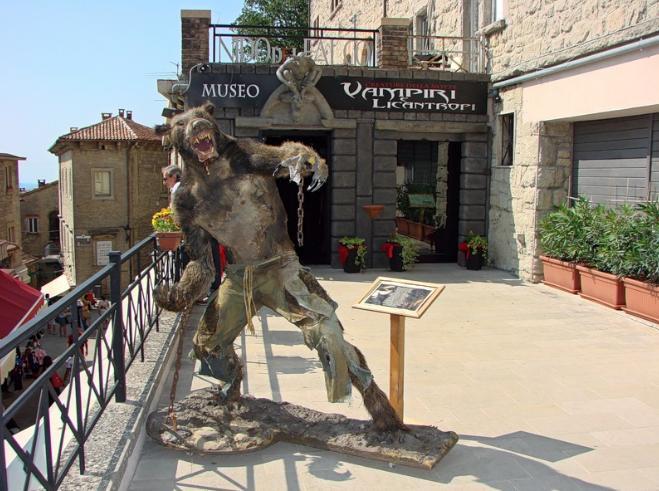 музей Vampiri e Licantropi в сан-марино