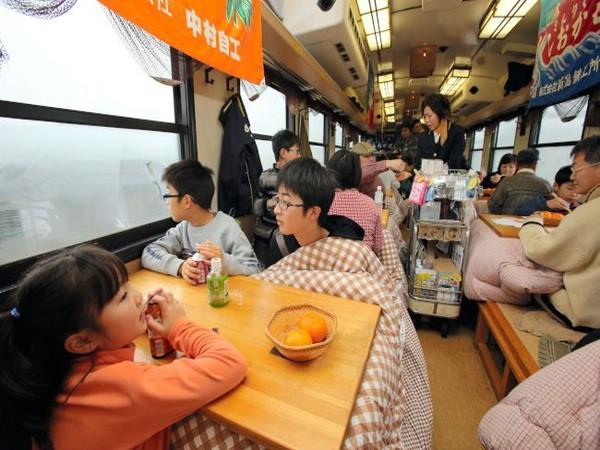 отопление зимой в японии
