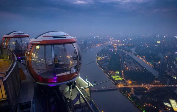 Телебашня Гуанчжоу Китай
