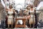 Костюмированный праздник Мавры и Христиане в городе Алькой, Испания
