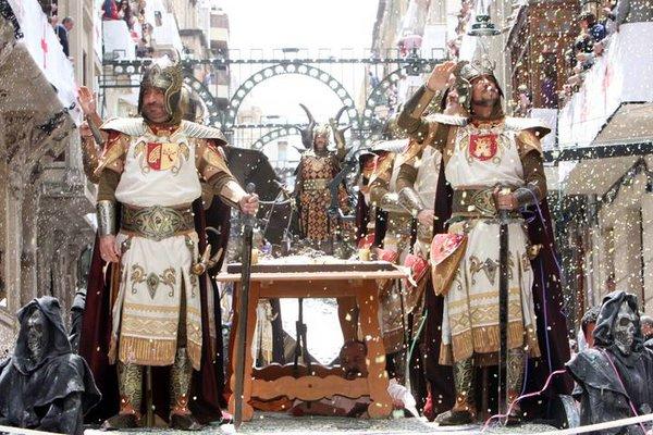 праздник мавры и христиане алькой