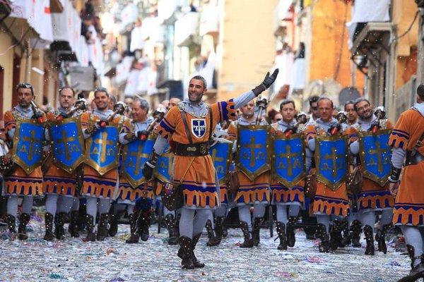 мавры и христиане испания