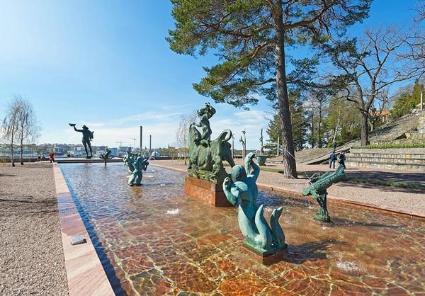 сад Миллеса Стокгольм