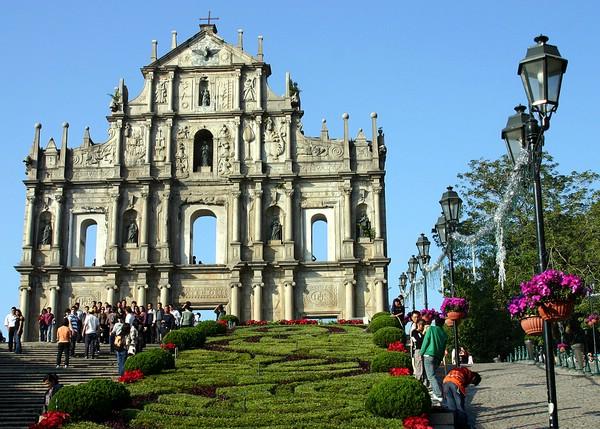 собор святого павла макао