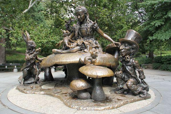 алиса в стране чудес центральный парк нью-йорк