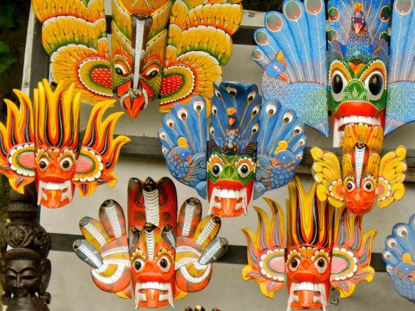 Музей масок в Амбалангода