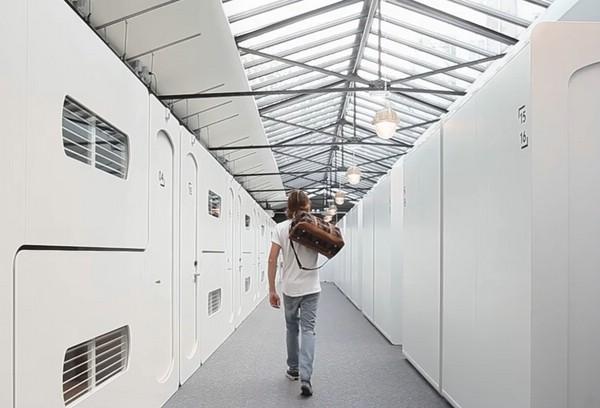 цифровой отель в амстердаме