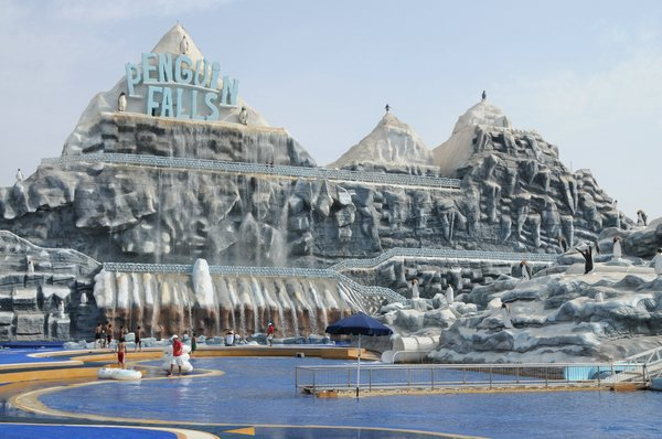 Аквапарк в Рас-Аль-Хайме ОАЭ