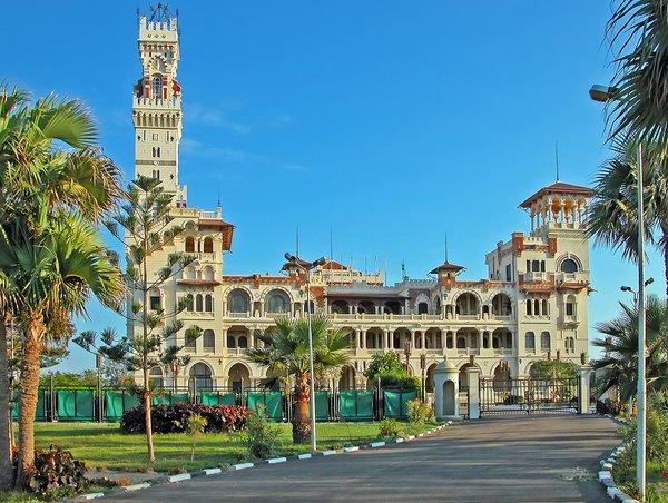 парк и дворец монтаза