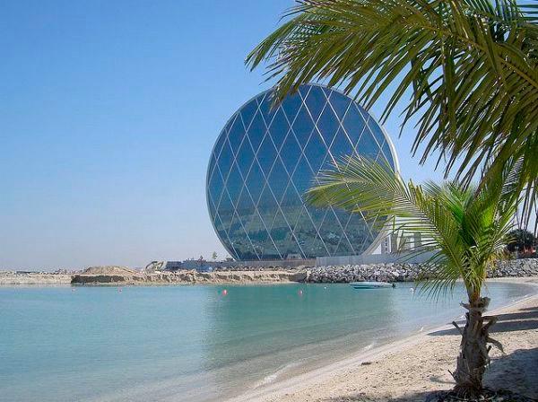 здание Aldar HQ в абу-даби