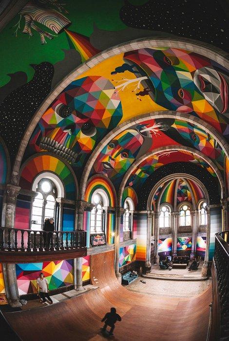 церковь для скетбордистов