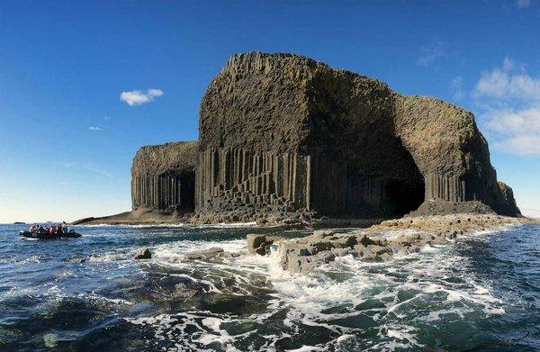 Остров Стаффа и Фингалова пещера, Шотландия