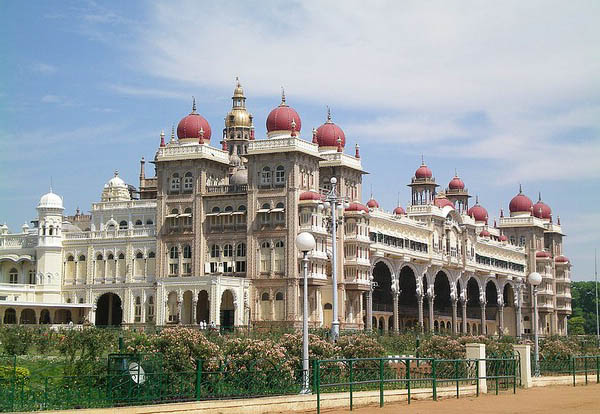 дворец в майсуре индия