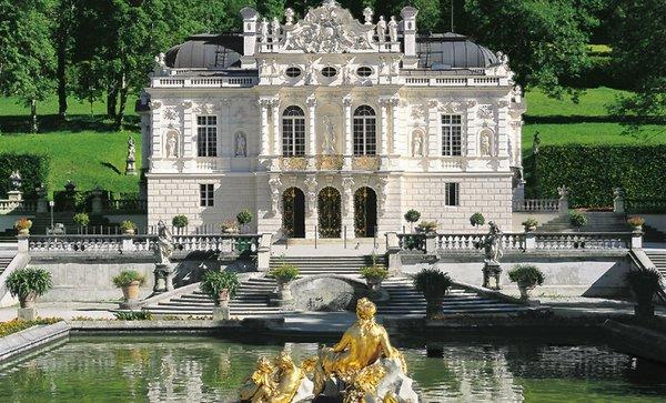 Баварский замок Линдерхоф— роскошный дворец Людвига II