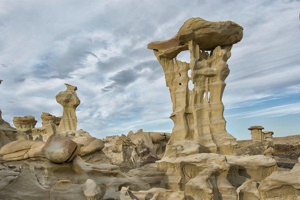 Фантастические пейзажи пустыни Бисти