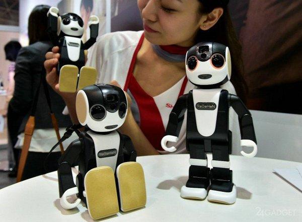 гибрид робота и смарфона RoboHon
