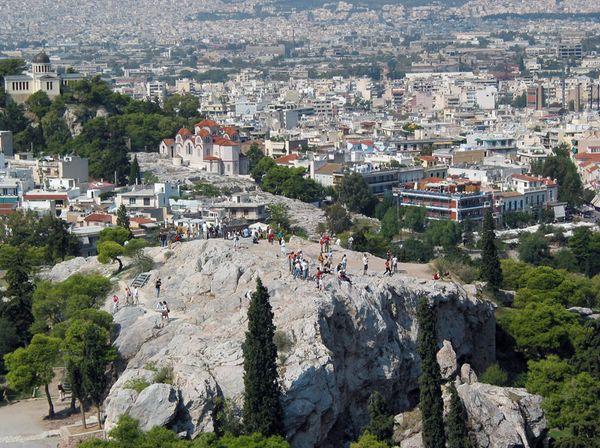достопримечательности афин холм Ареопаг